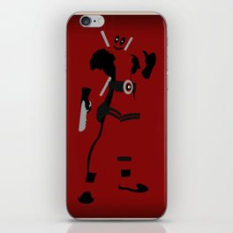 Merc with a mouth (Deadpool) iPhone Skin