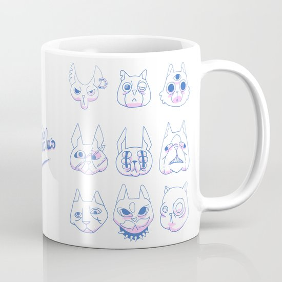 Chatons moches (Ugly Kitties) Mug