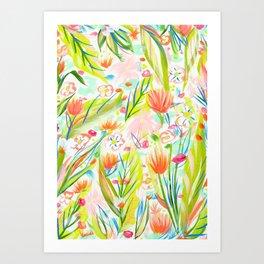 Tropical fun Art Print