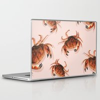 crab Laptop & iPad Skins featuring Crab by Trinity Mitchell