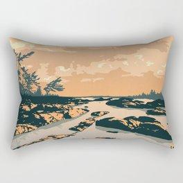 The Massasauga Park Poster Rectangular Pillow