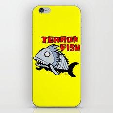 Terror fish iPhone & iPod Skin
