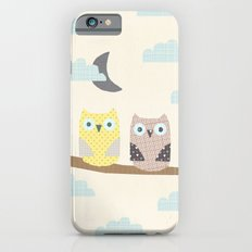 owls on a branch Slim Case iPhone 6s