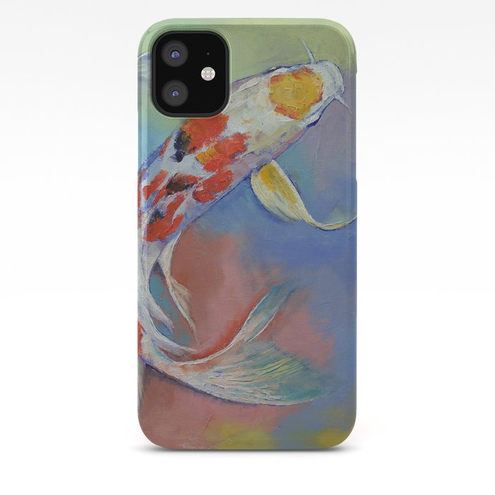 Butterfly Koi Fish Iphone Case By Michaelcreese Society6