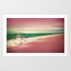 In the Pink II Art Print