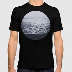 Out to Sea Mens Fitted Tee Black 2X-LARGE