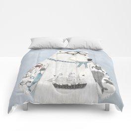 the arctic explorer Comforters