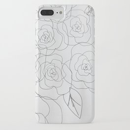 warhol flowers iPhone Case