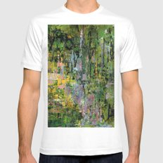 Giverny MEDIUM White Mens Fitted Tee