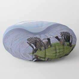 Seating by the Sea Floor Pillow