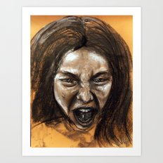 Scream #9 Art Print
