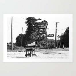 The Lonely Chair Art Print