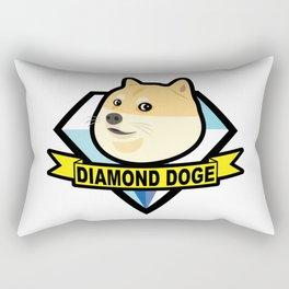 Diamond Doge Rectangular Pillow