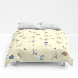 Sylveon Lemon Print Comforters