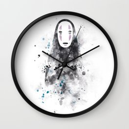 No Face Wall Clock