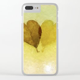 Echoing Love Clear iPhone Case