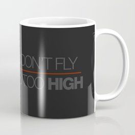 If sparks don't fly, your ride's too high v6 HQvector Coffee Mug