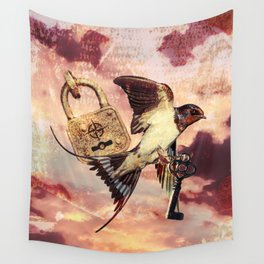 Lock and Key Wall Tapestry