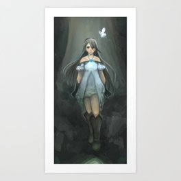 Agnès - Bravely Default Art Print