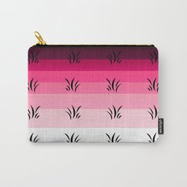 Botanical Pattern 3 Magenta Carry-All Pouch