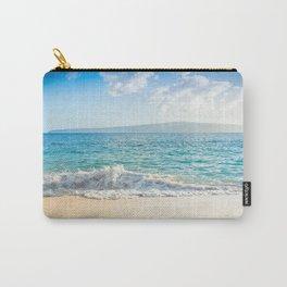 Oneloa Big Beach Makena Maui Hawaii Carry-All Pouch