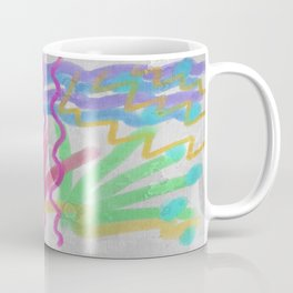 Thunderstorm Abstract Digital Painting Coffee Mug