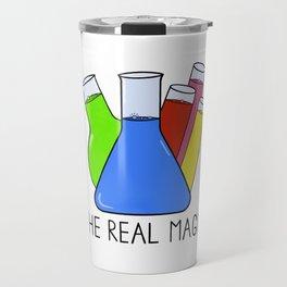 Science - The Real Magic Travel Mug