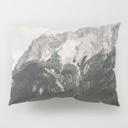 Such great Heights - Landscape Photography Pillow Sham