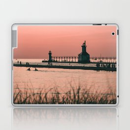 Sunset Lighthouse Laptop & iPad Skin