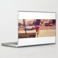 bikini Laptop & iPad Skins featuring bikini babe by fat dominic