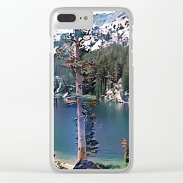 TJ Lake Clear iPhone Case