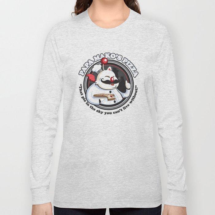 Papa Mako's Pizza Long Sleeve T-shirt