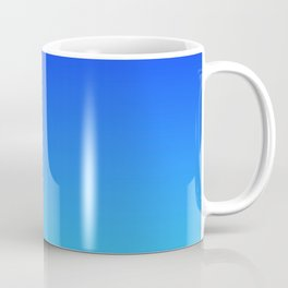 Caribbean Water Gradient Coffee Mug