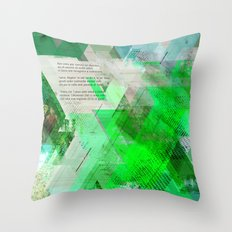 Non avea pur natura #everyweek 42.2016 Throw Pillow