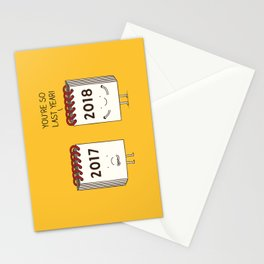 so last year... Stationery Cards