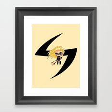 Chibi Ms. Marvel Framed Art Print