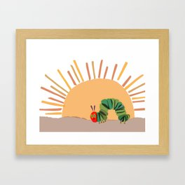 Am Hungry Framed Art Print