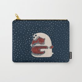 Cuddly Winter Bears Carry-All Pouch