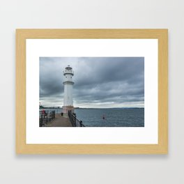 Light Tower in Edingburgh Framed Art Print