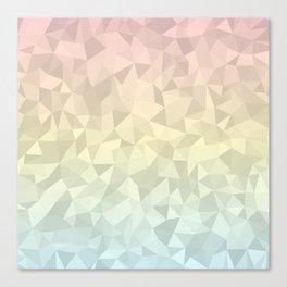 Pastel Ombre 4 Canvas Print