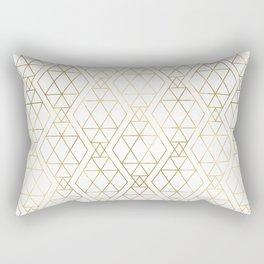 Modern Art Deco Geometric 1 Rectangular Pillow