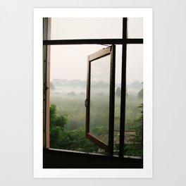 God opens a window Art Print