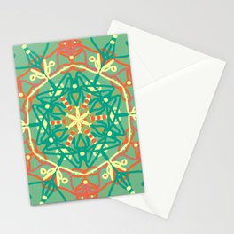mandal art Stationery Cards