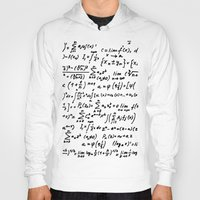 math Hoodies featuring Math by beach please