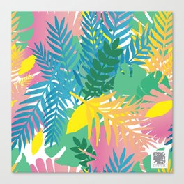 Wild tropical Canvas Print