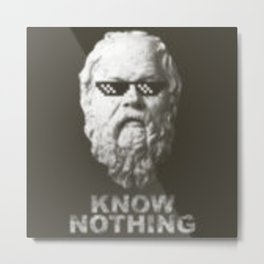 Know Nothing Metal Print