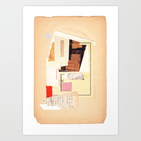geometric exp #01 Art Print