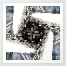 Gyrate features seem to toughen nerve accessory recognition. Art Print