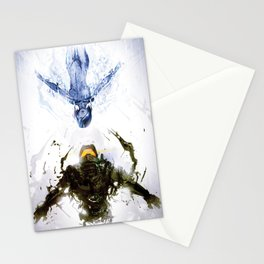 Who's the Machine? Stationery Cards