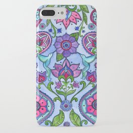 Hummingbird Paisley iPhone Case